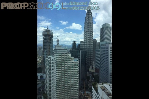 Condominium For Rent in Vortex Suites & Residences, KLCC Freehold Fully Furnished 2R/2B 3.2k