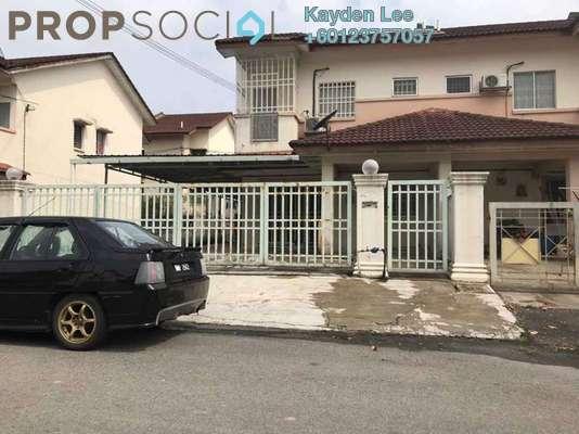 Terrace For Rent in Section 8, Bandar Mahkota Cheras Freehold Semi Furnished 4R/3B 1.8k