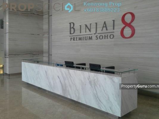 Condominium For Rent in Binjai 8, KLCC Freehold Fully Furnished 1R/1B 2.5k