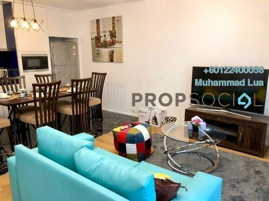 Serviced Residence For Rent in Arcoris, Mont Kiara Freehold Fully Furnished 2R/2B 4.8k
