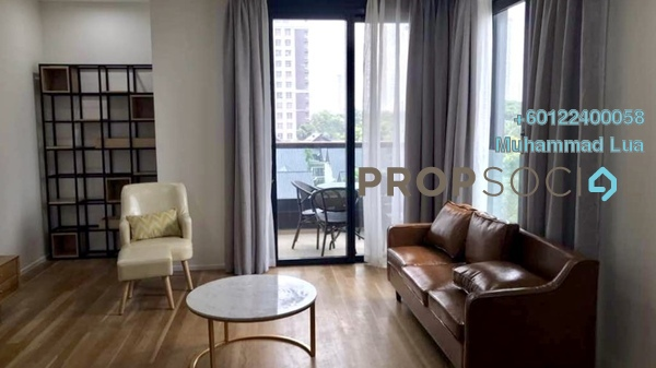 Serviced Residence For Rent in Arcoris, Mont Kiara Freehold Fully Furnished 2R/2B 5k