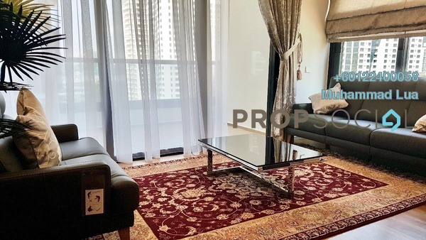 Serviced Residence For Rent in Arcoris, Mont Kiara Freehold Fully Furnished 3R/3B 7k