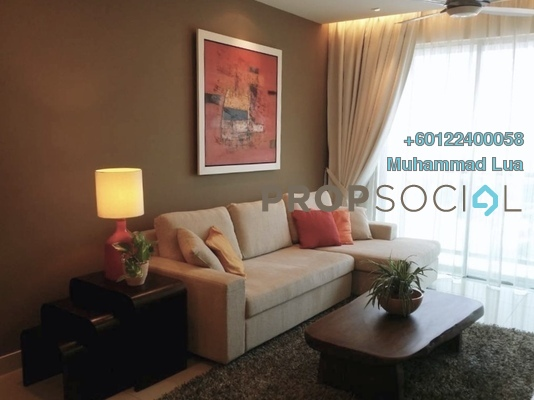 Serviced Residence For Rent in Solaris Dutamas, Dutamas Freehold Fully Furnished 2R/2B 5.6k