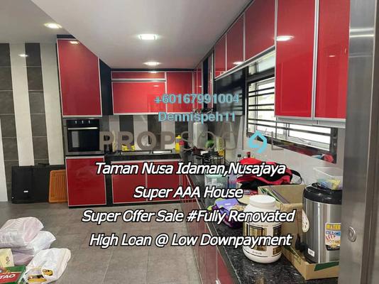 Terrace For Sale in Nusa Idaman, Iskandar Puteri (Nusajaya) Freehold Semi Furnished 4R/3B 710k