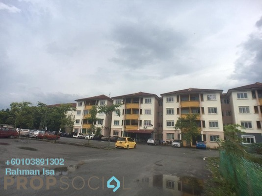 Apartment For Sale in Taman Langat Murni Apartment, Banting Freehold Unfurnished 3R/2B 145k