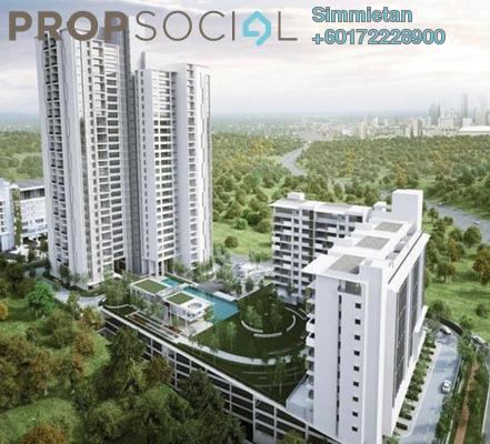 Condominium For Rent in Azelia Residence, Bandar Sri Damansara Freehold Semi Furnished 1R/1B 1.5k