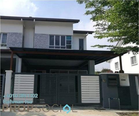 Link For Sale in Bandar Nusa Rhu, Shah Alam Freehold Semi Furnished 4R/3B 695k