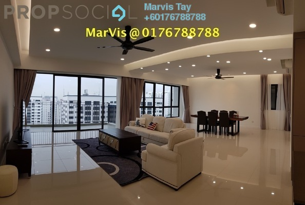 Condominium For Rent in Residensi 22, Mont Kiara Freehold Fully Furnished 4R/5B 11k