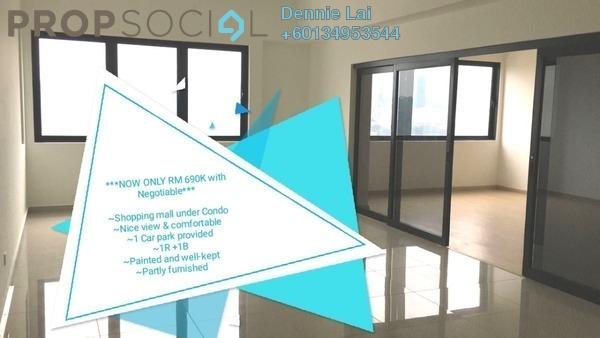 Condominium For Sale in Encorp Strand Residences, Kota Damansara Leasehold Semi Furnished 1R/1B 690k
