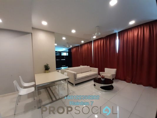 Serviced Residence For Rent in Uptown Residences, Damansara Utama Freehold Fully Furnished 1R/1B 2.19k