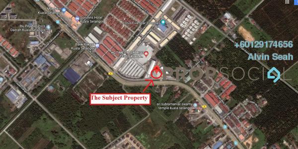 Shop For Rent in Taman Penggawa, Kuala Selangor Freehold Unfurnished 0R/0B 48k