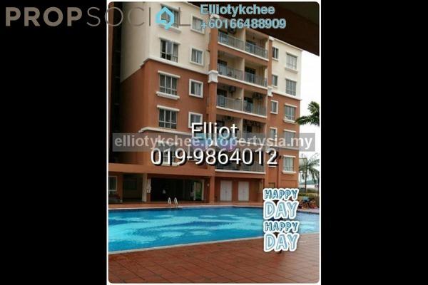 Condominium For Rent in Fortune Park, Seri Kembangan Leasehold Fully Furnished 3R/2B 1.9k