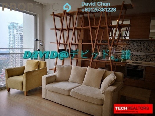 Condominium For Rent in VERVE Suites, Mont Kiara Freehold Fully Furnished 2R/2B 3.3k