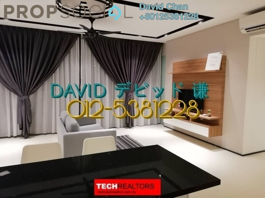 Condominium For Rent in The Fennel, Sentul Freehold Fully Furnished 3R/3B 3.6k