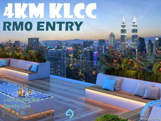 Condominium For Sale in Platinum Splendor Residence, Kuala Lumpur Leasehold Semi Furnished 4R/2B 420k