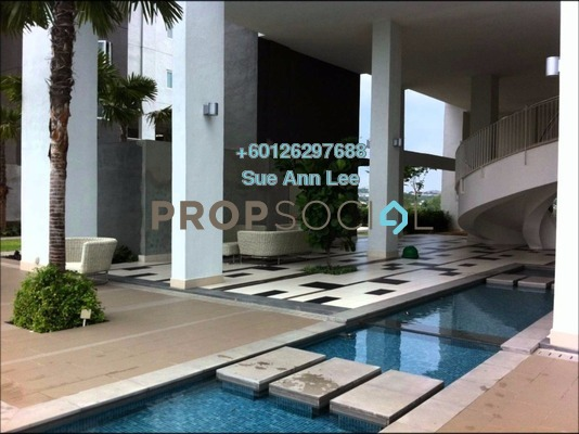 Condominium For Rent in First Residence, Kepong Freehold Semi Furnished 4R/2B 1.7k