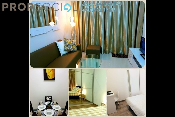 Condominium For Rent in South View, Bangsar South Freehold Fully Furnished 2R/1B 2.6k