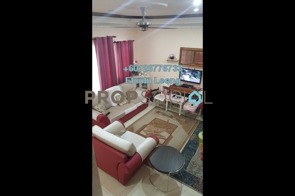 Terrace For Sale in Prima Saujana, Kajang Freehold Semi Furnished 4R/3B 555k