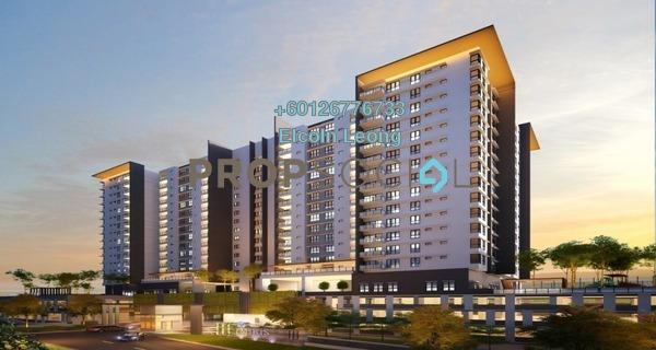 Condominium For Sale in Iris Residence, Bandar Sungai Long Freehold Unfurnished 3R/2B 460k