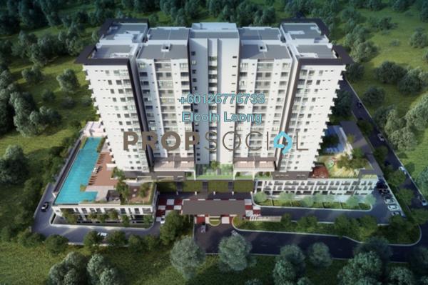 Iris residence bandar sungai long external facade. ufm4 n ttnz d ab2gbv small