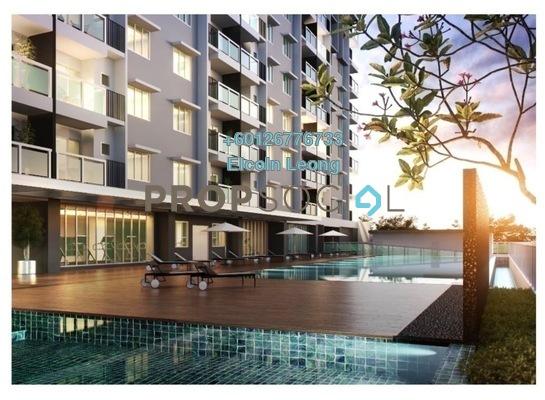 Condominium For Sale in Camellia Residences, Bandar Sungai Long Freehold Unfurnished 3R/2B 420k