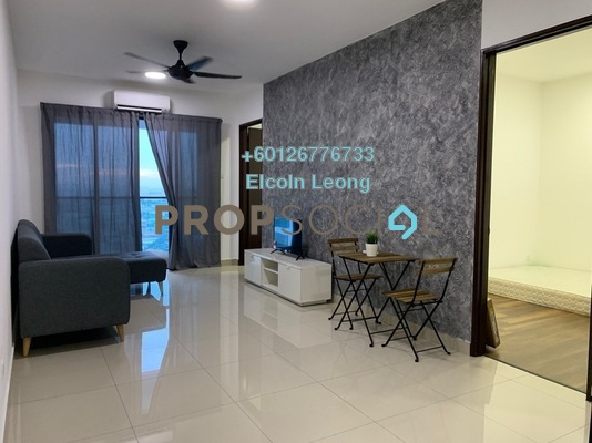 Condominium For Rent in Symphony Tower, Balakong Freehold Fully Furnished 3R/2B 1.5k