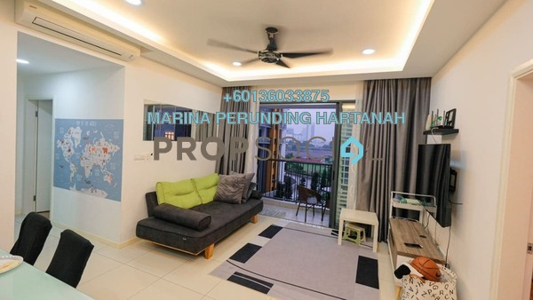 Condominium For Sale in Casa Green, Bukit Jalil Freehold Unfurnished 3R/3B 500k