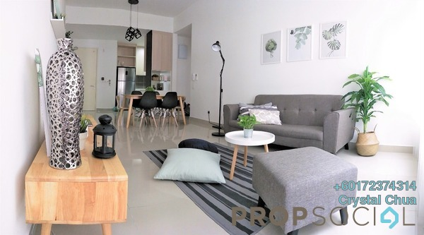 Condominium For Sale in Lakeville Residence, Jalan Ipoh Freehold Fully Furnished 3R/2B 550k