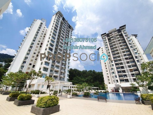 Condominium For Sale in 3 Residence, Jelutong Freehold Semi Furnished 3R/3B 1.1m