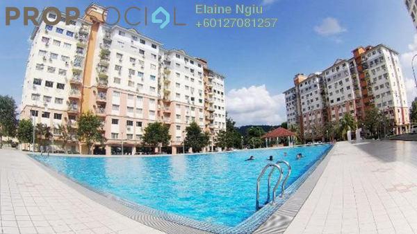 Condominium For Rent in Sri Hijau, Bandar Mahkota Cheras Freehold Semi Furnished 3R/2B 850translationmissing:en.pricing.unit