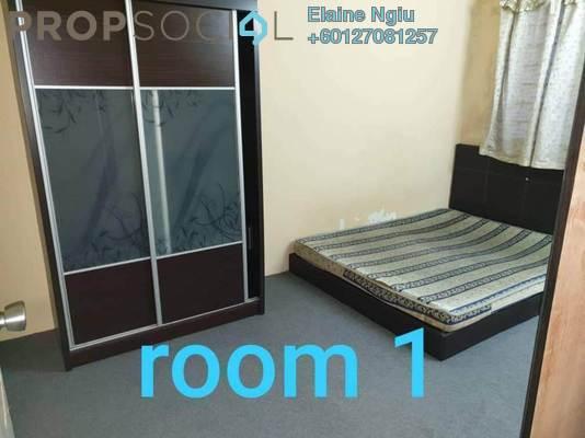Apartment For Rent in Sri Indah Apartment, Bandar Putra Permai Freehold Semi Furnished 3R/1B 700translationmissing:en.pricing.unit