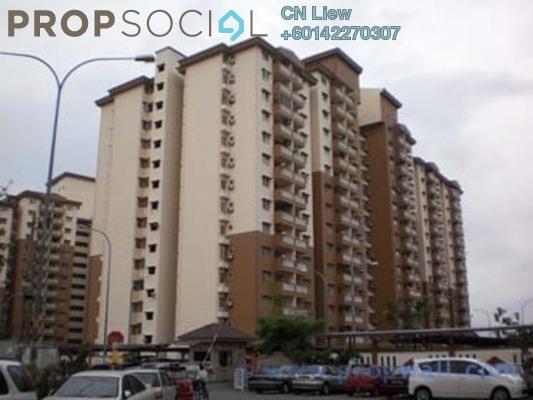 Apartment For Rent in Sri Lavender Apartment, Kajang Freehold Fully Furnished 3R/2B 1k