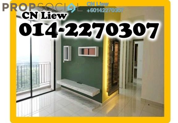 Condominium For Rent in Conezión, IOI Resort City Freehold Unfurnished 3R/2B 2.5k