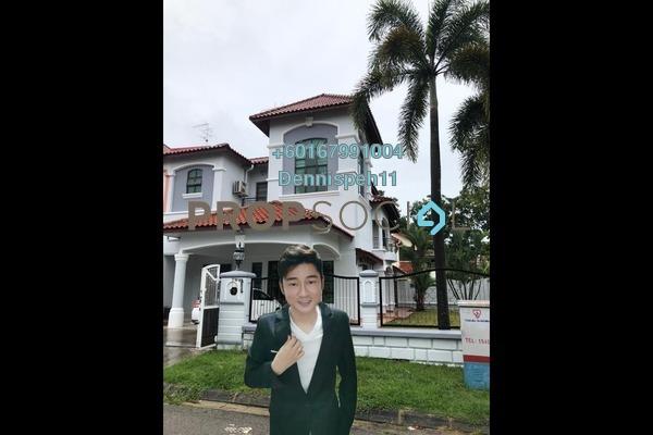 Semi-Detached For Sale in Taman Pelangi Indah, Ulu Tiram Freehold Semi Furnished 5R/5B 1.12m