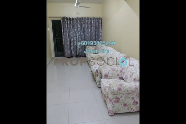 Condominium For Rent in Kepong Sentral Condominium, Sungai Buloh Freehold Semi Furnished 3R/2B 1.1k