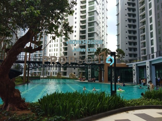 Condominium For Rent in The Henge Residence, Kepong Freehold Semi Furnished 3R/2B 1.5k