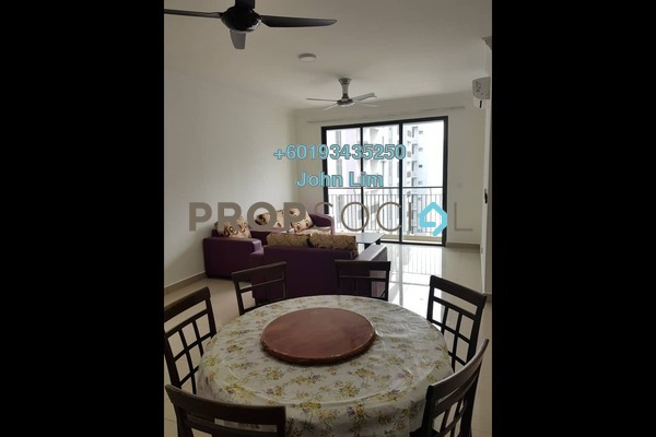 Condominium For Rent in The Henge Residence, Kepong Freehold Semi Furnished 3R/2B 1.75k