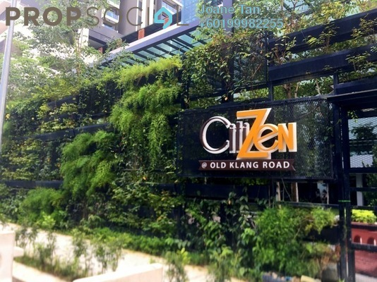 Serviced Residence For Rent in CitiZen, Old Klang Road Freehold Semi Furnished 3R/2B 2k