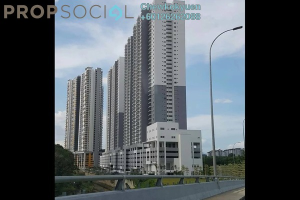 Serviced Residence For Rent in PPA1M Bukit Jalil, Bukit Jalil Freehold Semi Furnished 4R/2B 1.32k