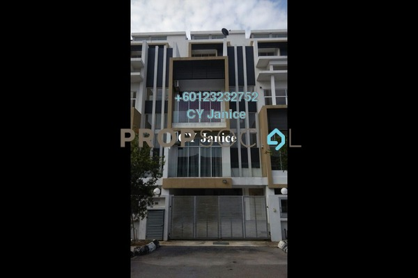 Superlink For Rent in Gembira Park, Kuchai Lama Freehold Unfurnished 5R/6B 3.5k
