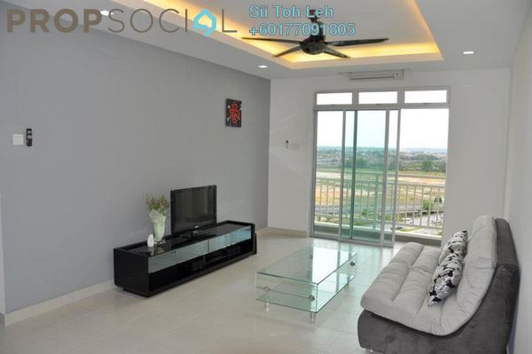 Serviced Residence For Sale in Tebrau City Residences, Tebrau Freehold Fully Furnished 3R/2B 370k