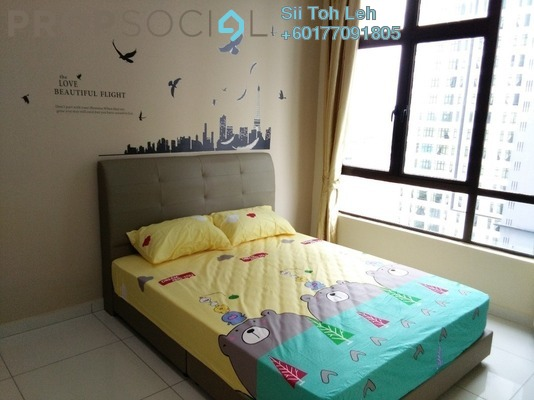 Apartment For Rent in D'Summit Residences, Skudai Freehold Fully Furnished 2R/2B 1.3k