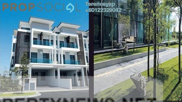 Superlink For Sale in PFCC, Bandar Puteri Puchong Freehold Fully Furnished 6R/6B 970k