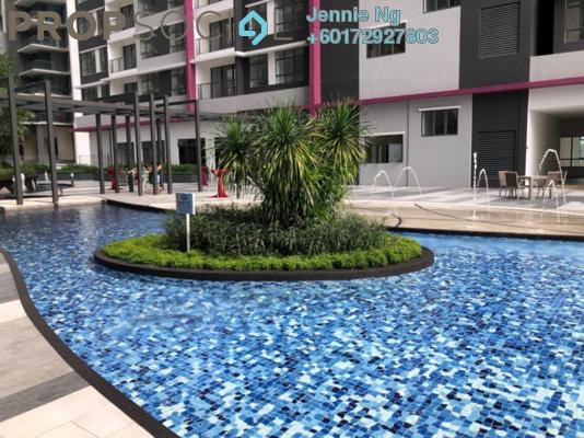 Condominium For Sale in Casa Green, Bukit Jalil Freehold Semi Furnished 3R/3B 538k