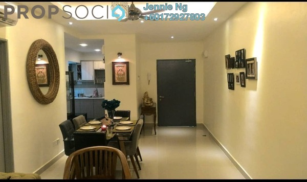 Condominium For Rent in One South, Seri Kembangan Freehold Fully Furnished 3R/2B 2.3k