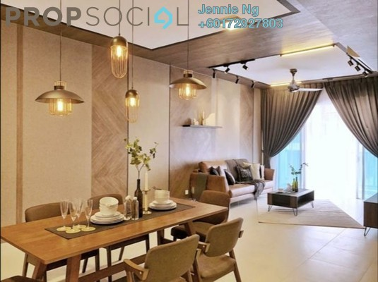 Serviced Residence For Rent in Residensi Sefina, Mont Kiara Freehold Fully Furnished 3R/2B 5k