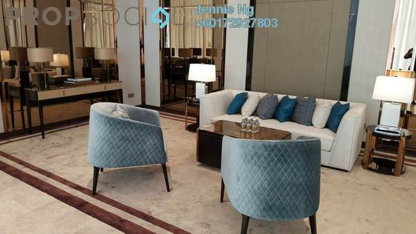 Serviced Residence For Rent in Pavilion Suites, Bukit Bintang Freehold Fully Furnished 2R/1B 6.3k