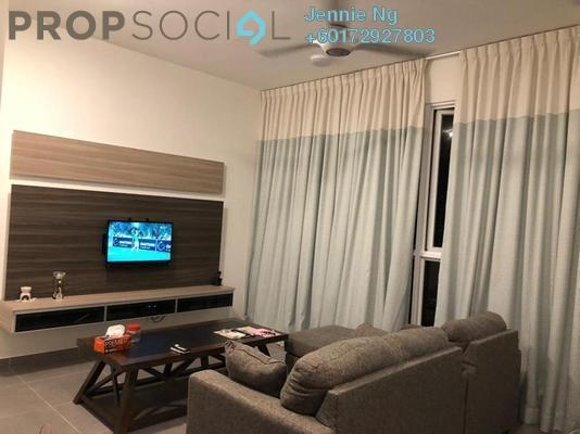 Serviced Residence For Rent in Sentrio Suites, Desa Pandan Freehold Fully Furnished 3R/2B 2.6k