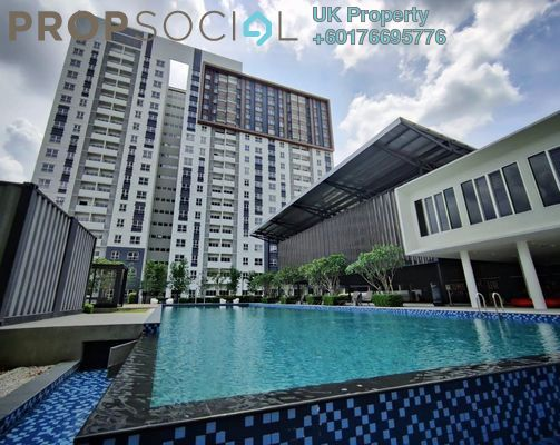 Condominium For Rent in Aman 1, Tropicana Aman Freehold Fully Furnished 3R/2B 1.6k