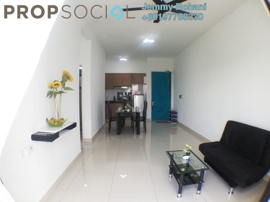 Condominium For Rent in The Olive, Sunsuria City Freehold Fully Furnished 3R/2B 1.4k